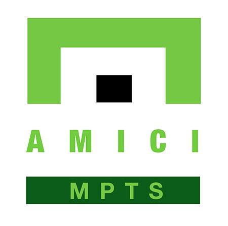 Amici MPTS Logo - Black DOT - White Background